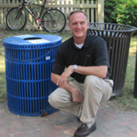Bob Avalle has also been a major advocate of sustainability at W&M.