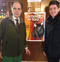 Cammarata with renowned surgeon Enrique Crespo