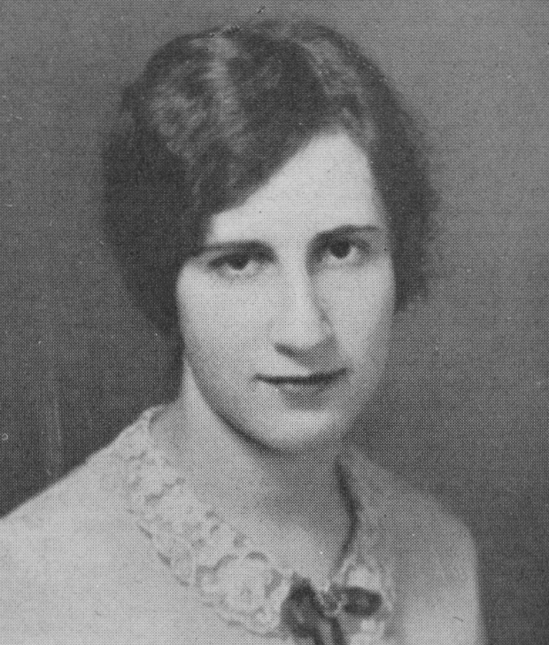 A photo of Ruth Stern Hilborn from the 1928 Colonial Echo yearbook (courtesy of Swem Special Collections Research Center)
