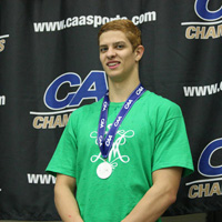 Andrew Strait graduated in May as one of the most decorated W&M swimmers ever.