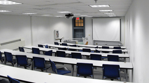 Classrooms & Auditorium Space