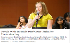 Invisible Disabilitiess