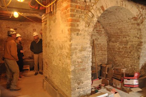Basement Masonry Repairs