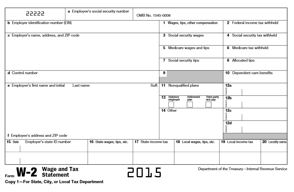 2014 w2 Form W-2 Explained | William