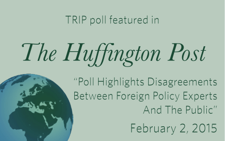 TRIP Poll featured in The Huffington Post