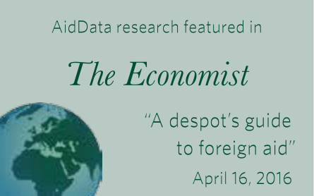 AidData research featured in The Economist