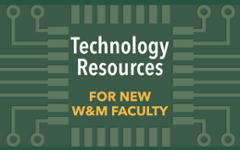 New Faculty Resources