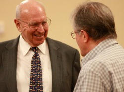 Ambassador Pickering at W&M on April 12