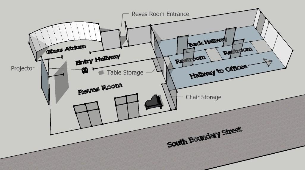 Reves Room Diagram William Mary