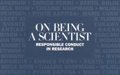 On Being a Scientist