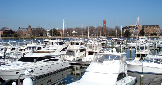 Hampton popular with boaters