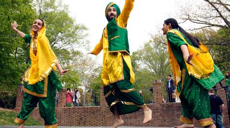 The W&M Bhangra Dance Team